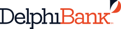 Delphi Bank coloured logo.